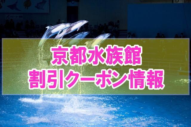 京都水族館の割引クーポン情報2020!最大半額や前売り券、ベネフィットなど格安チケット