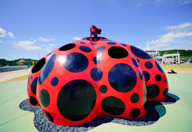 直島の平日土日9月の混雑や芸術祭、駐車場、フェリーの混み具合と所要時間
