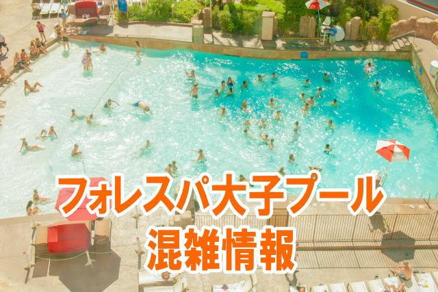 フォレスパ大子プールの混雑(お盆&夏休み)や持ち込み可能な持ち物と口コミ